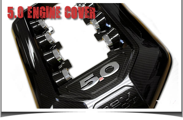 2011 Mustang GT 5.0 Hydro Carbon Engine Cover