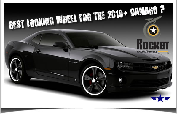 2010 2011Camaro Modern Muscle Booster 18x9 Wheel by Rocket Racing Wheels