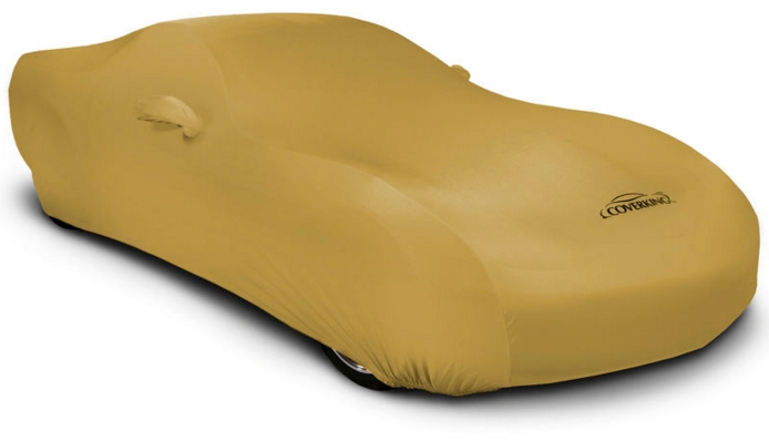 2015 2016 Ford Mustang Coverking Satin Car Cover Gold